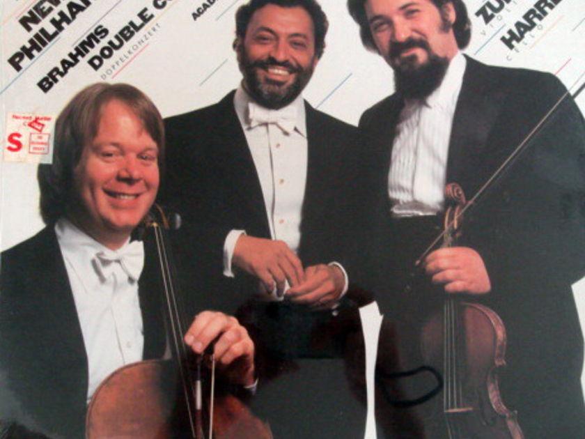 ★Sealed★ CBS / ZUKERMAN-HARRELL-MEHTA, - Brahms Double Concerto, Academic Festival Overture!