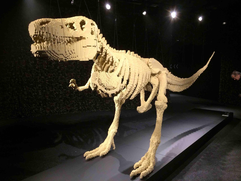 lego Giant t-rex
