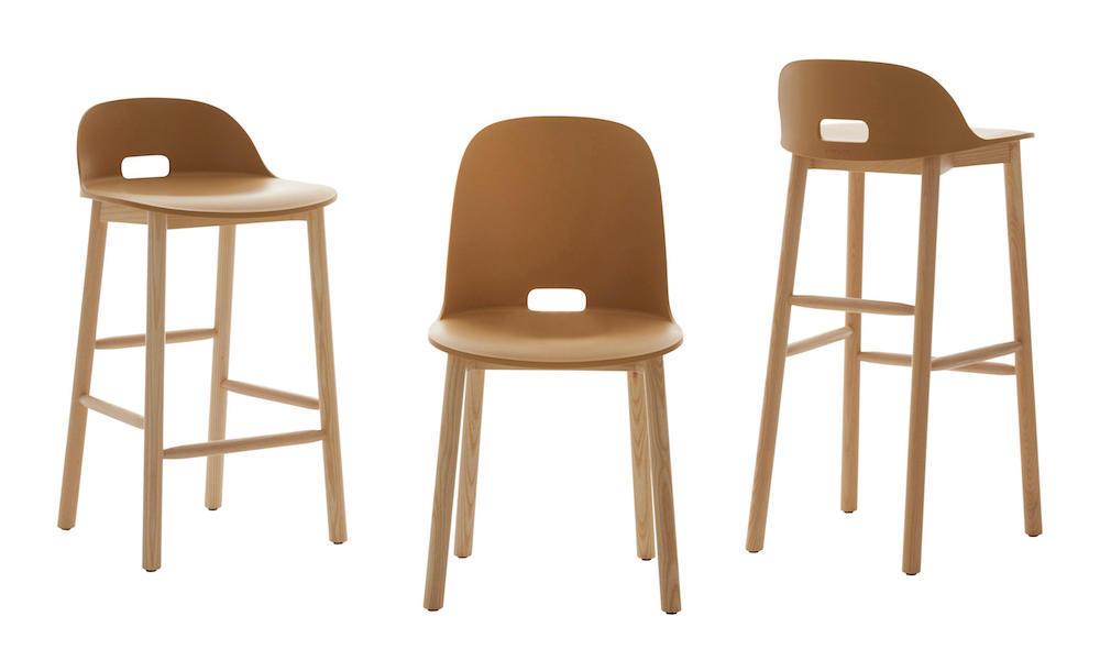 Emeco ALFI stools