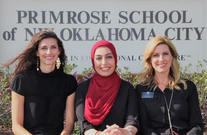Franchise Owners of Primrose School Ashley Hughes, Sarah Albahadily and Andrea Choate