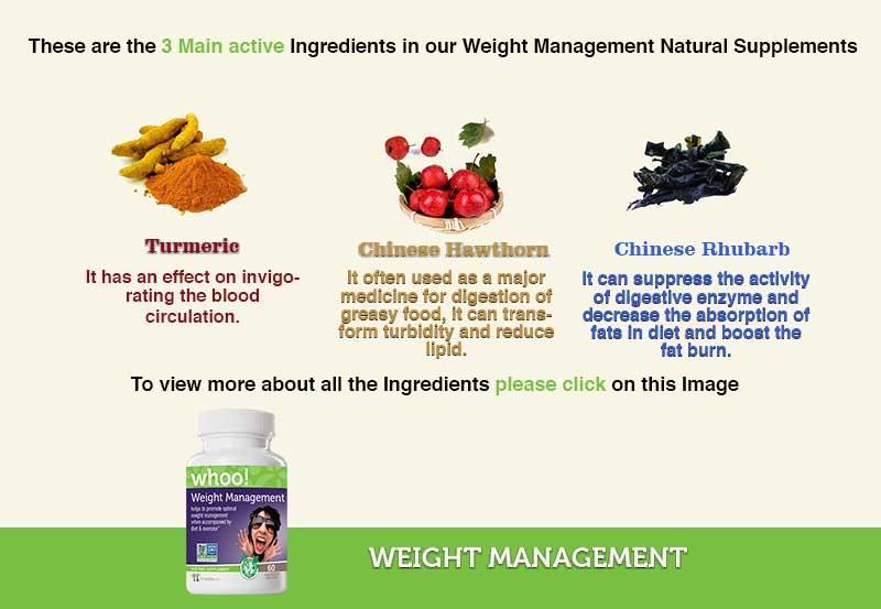 Weight Management   Ingredients