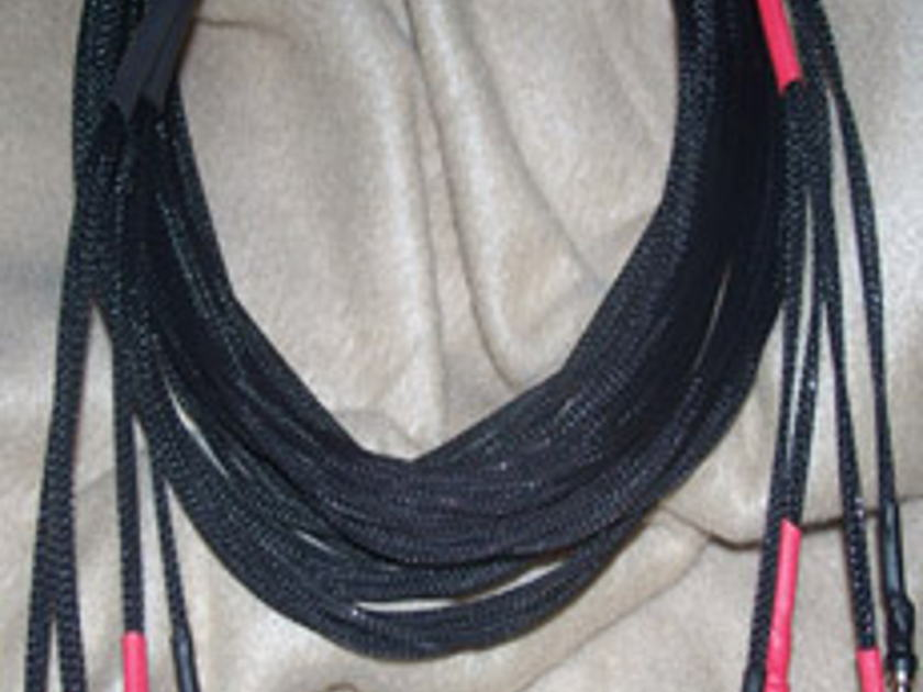 Clear Day Cables Solid Core 8ft silver shotgun