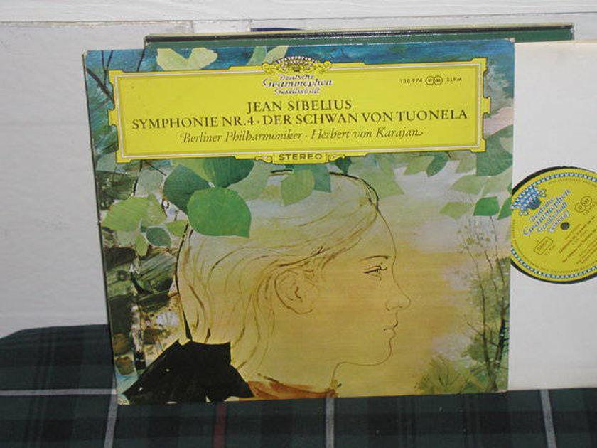 Von Karajan/BPO - Sibelius No.4 DGG  TULIP German import