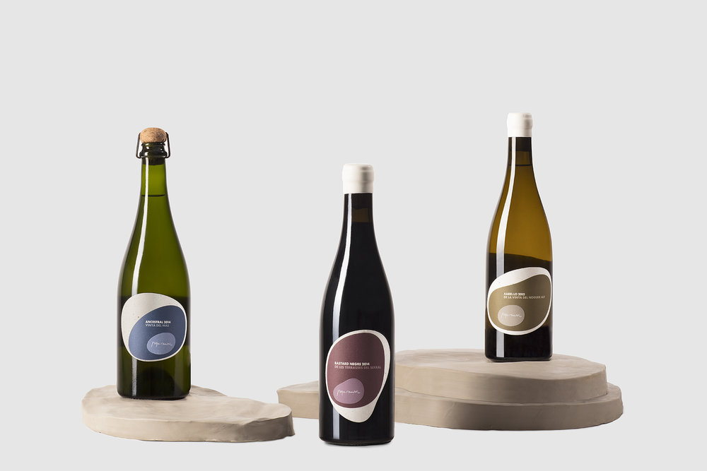 These Natural Wines Have A Unique Shape For Their Labels Dieline