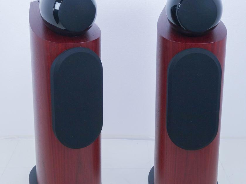 B&W 802D3 Floorstanding Speakers; Pair; Rosenut (9373)