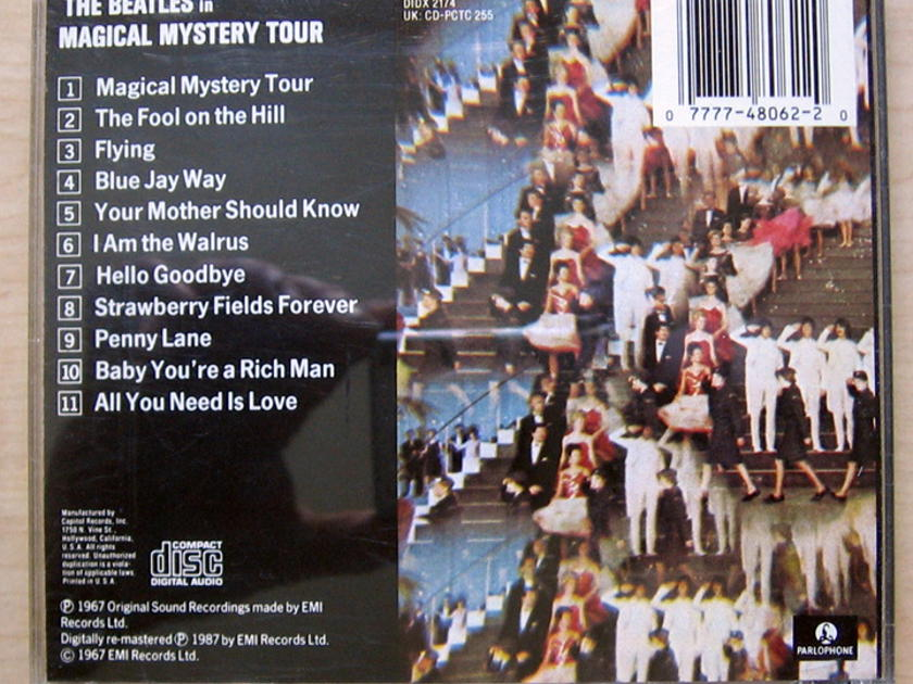 The Beatles - Magical Mystery Tour - 1987 Parlophone ‎CDP 7 48062 2
