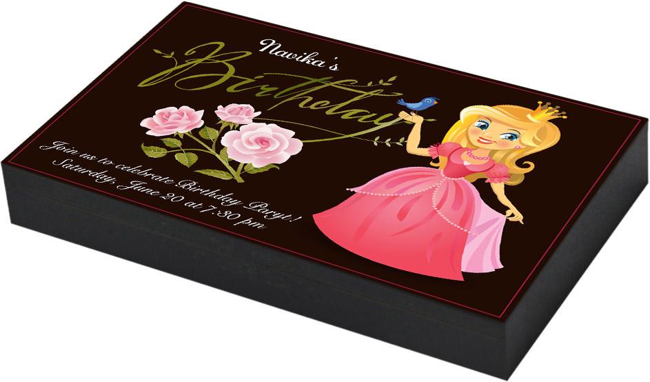 Rapunzel theme Birthday invitation