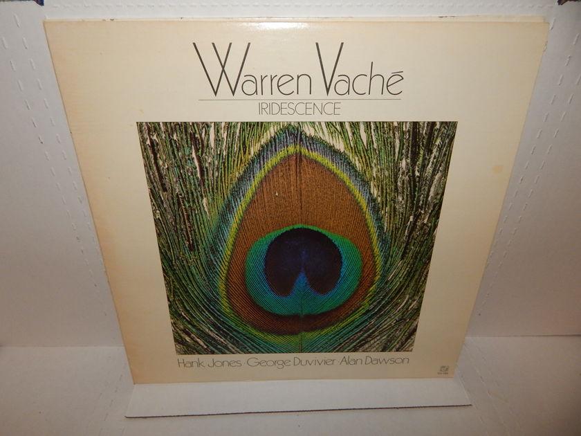 """WARREN VACHE """"Iridescence"""" - Hank Jones George Duvivier 1981 Concord Jazz LP EXC"""