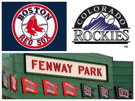Red Sox vs. Colorado Rockies, 5/26 - Two Tickets