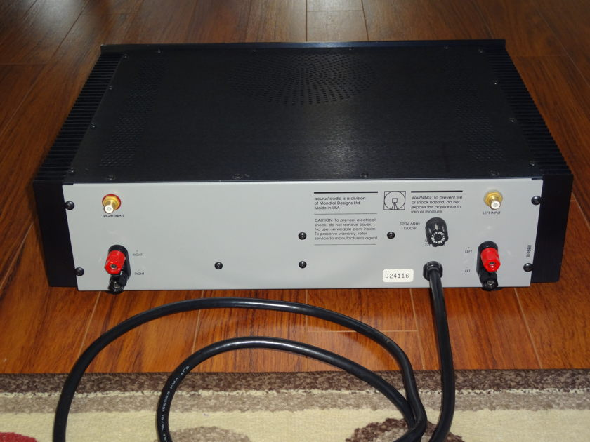 Acurus A250 Power Amplifier