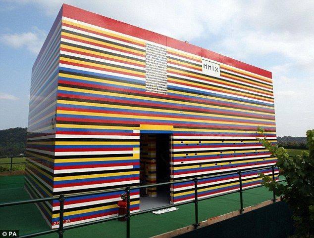 Full-Size Lego House