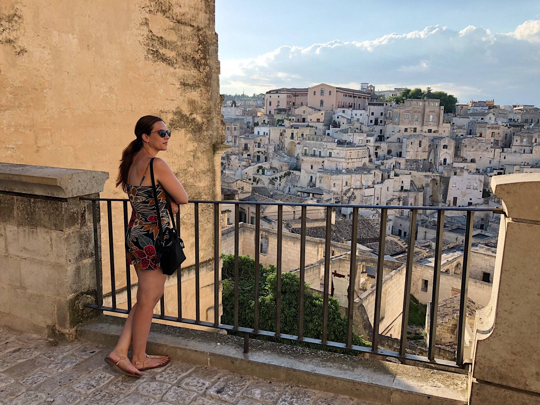 Julianna Cassata in Matera Italy