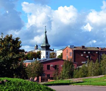 Экскурсия по Выборгу и Карельскому перешейку от Финляндского вокзала.