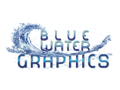 Blue Water Graphics  4 x 6 Sign/Banner