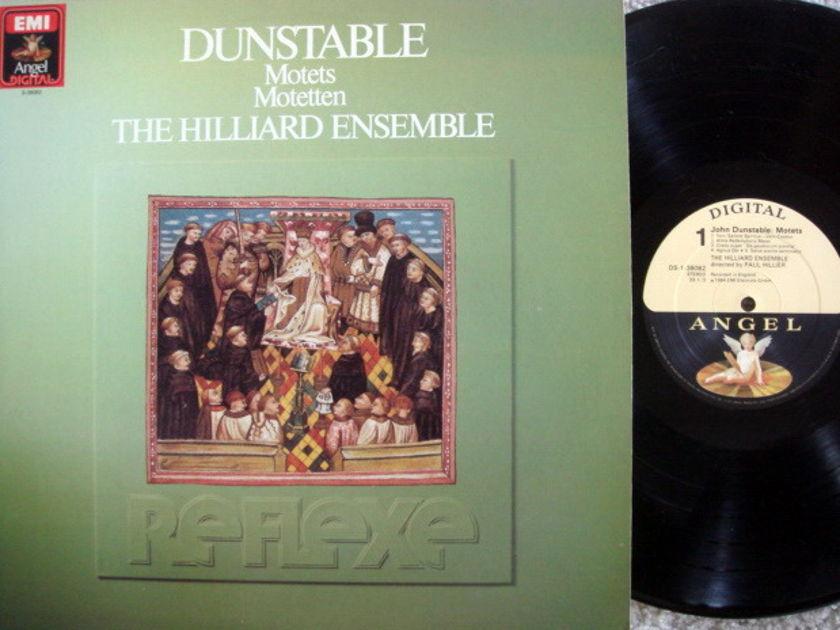 EMI Angel Digital / HILLIER, - Dunstable Motets, MINT!