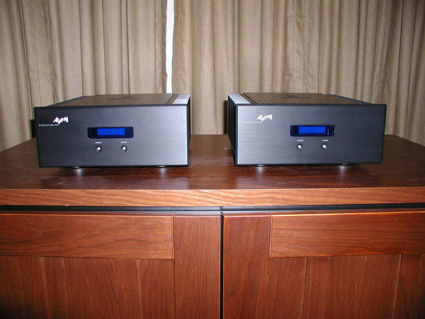 AVM Audio Evolution M5 Mono's Terrific for Audio and Surround !  Just Lowered Price...