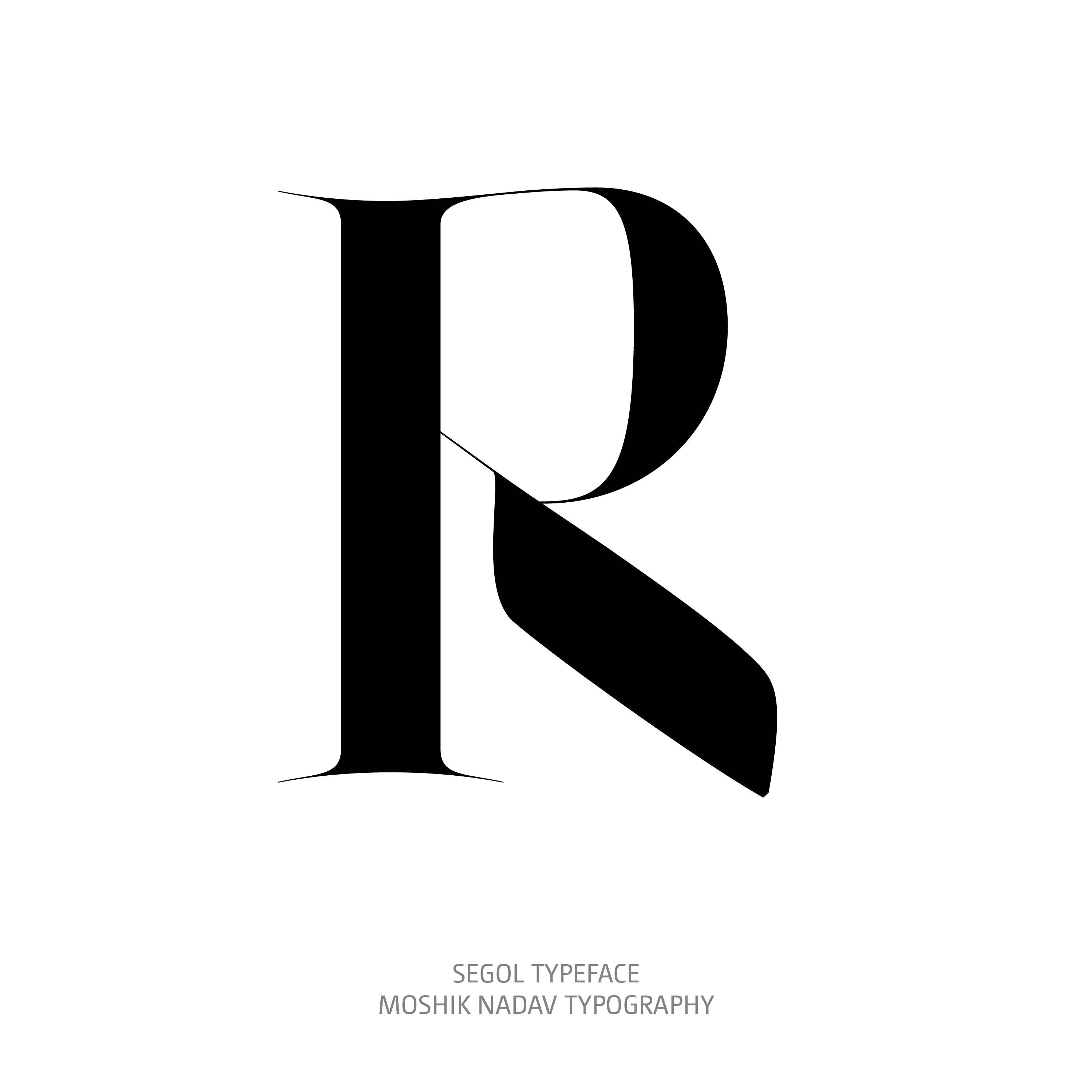 Segol Typeface R The Ultimate Font For Fashion Typography and sexy logos