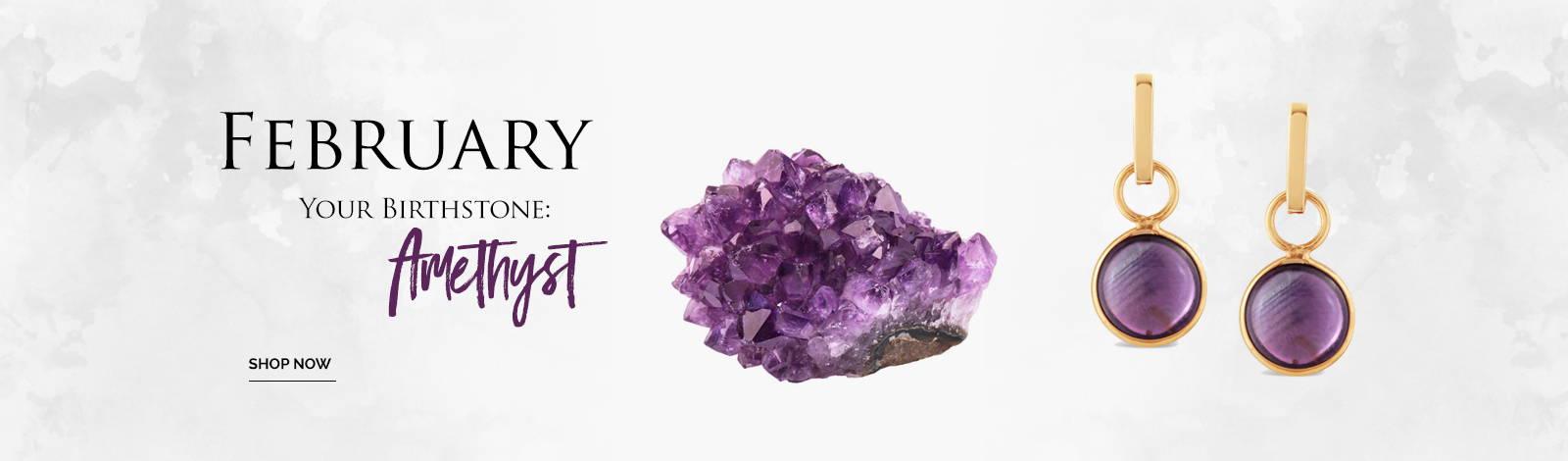 February Stone; Amethyst