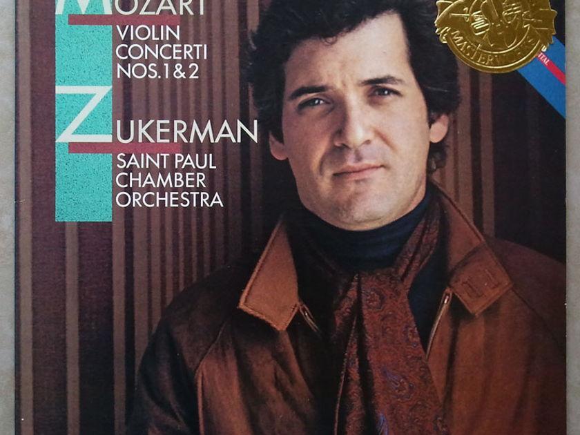 CBS/Zukerman/Mozart - Violin Concertos Nos. 1 & 2 / NM