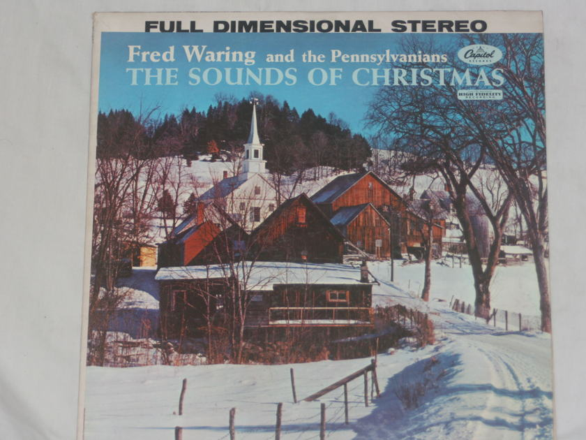 Fred Waring and the Pennsylvanians - The Sound of Christmas Capitol Records ST 1260