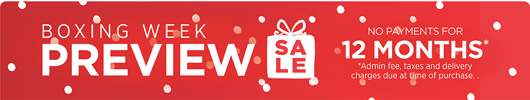 Boxing Week Preview Sale
