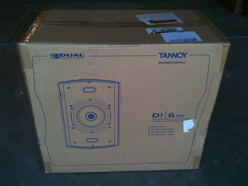 Tannoy Di6 DCt Premium Outdoor Speaker - White