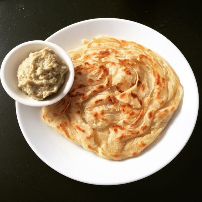 My very first roti canai, thanks again for the awesome recipe.