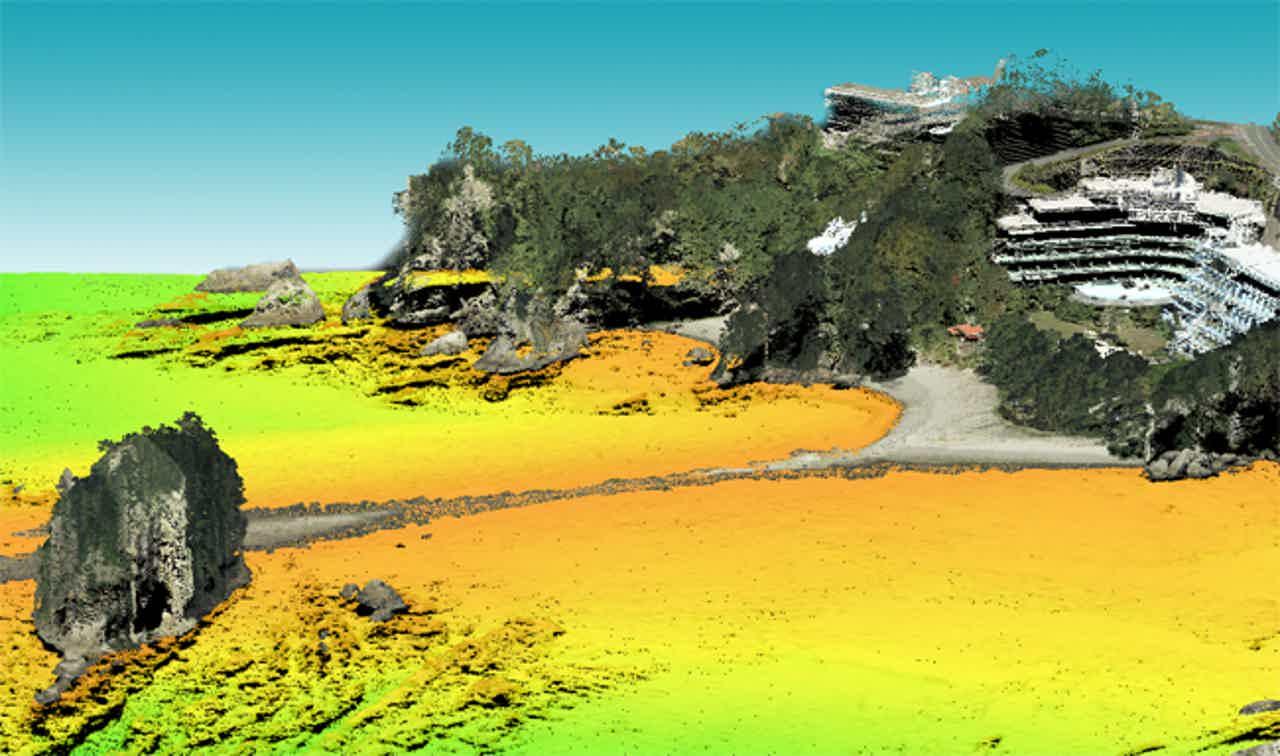 静岡県、伊豆半島西部エリアの3次元点群データをオープンデータとして公開