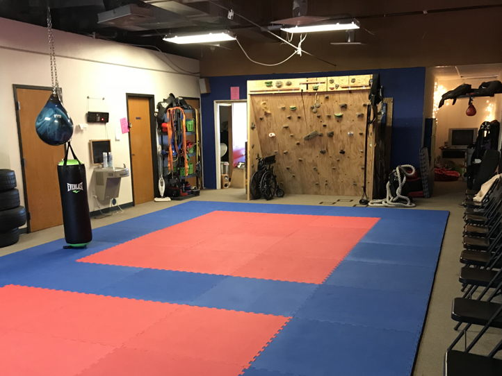 Fully Equipped Combat Sports Gym