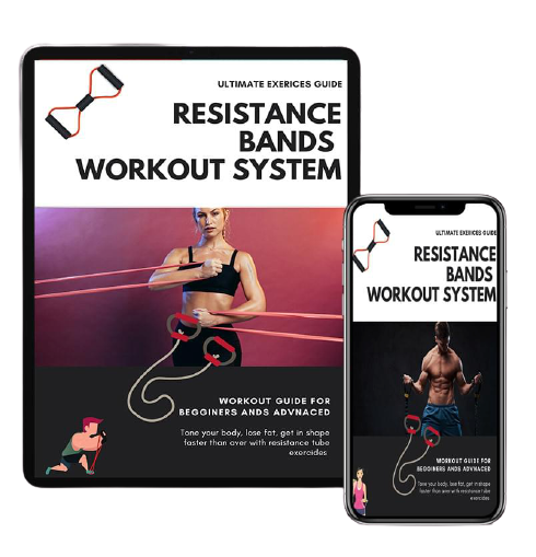 Exercice bands, workout bands and training bands