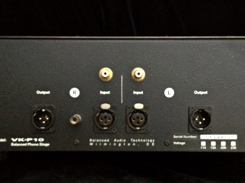 Balanced Audio Technology VK-P10 Tube Phono Pre-amp Stage