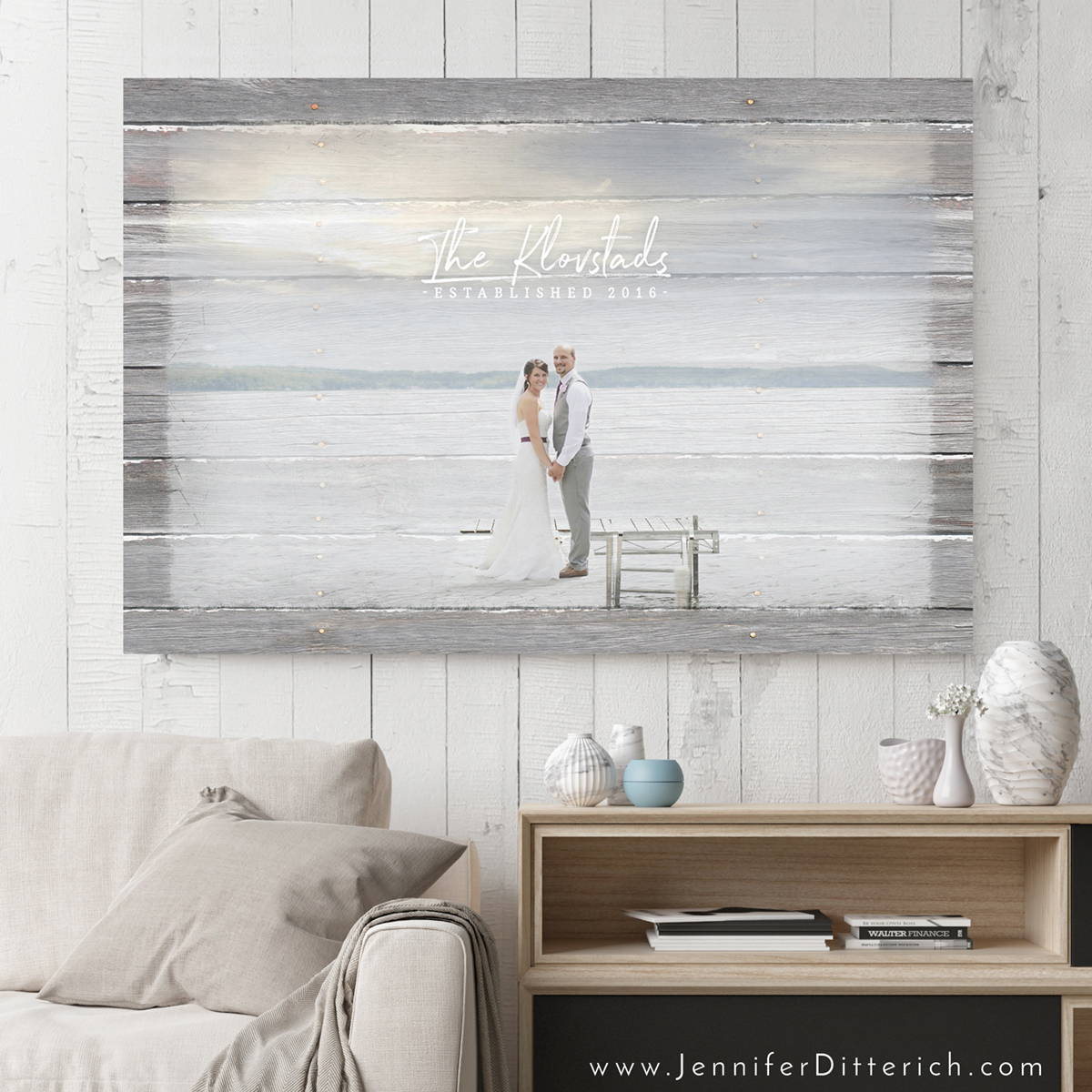 Custom Wedding Canvas Print