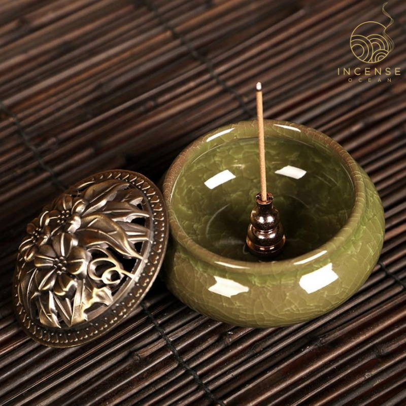 alloy copper incense holder