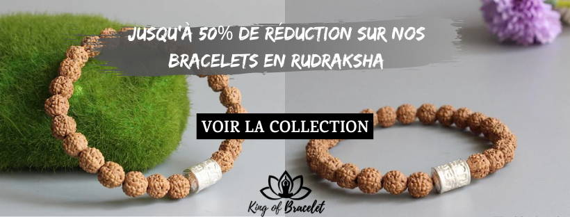 Bracelets en Rudraksha - King of Bracelet