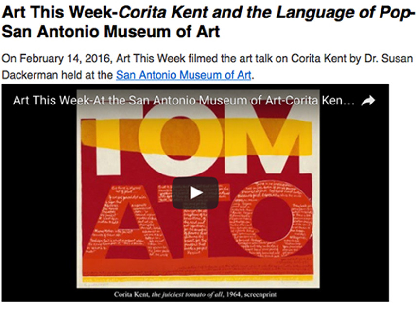 ArtThisWeek, Kent