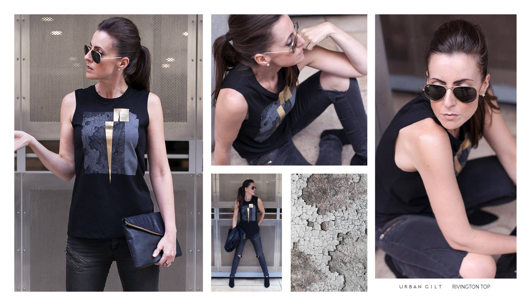 Urban Gilt Lookbook | Urban Textures | Rivington Top