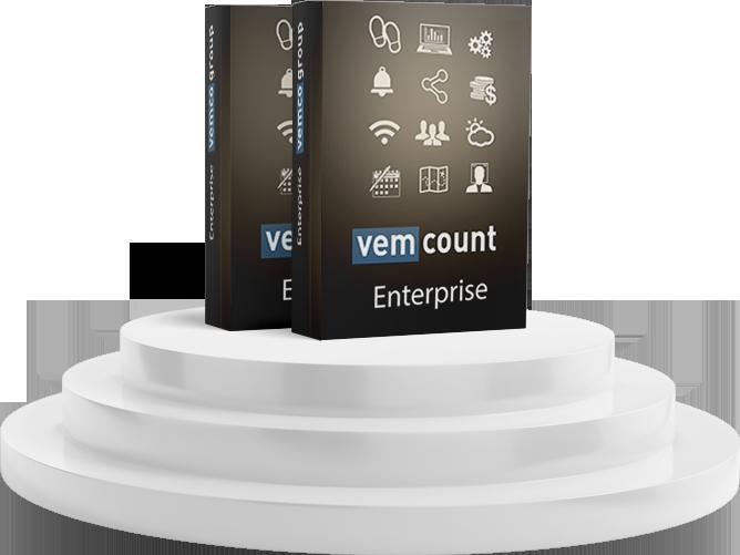 Vemcount Enterprise Data footfall analytics software platform