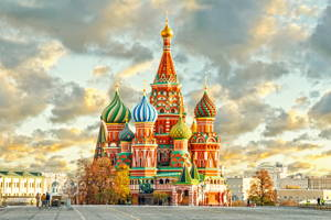 Moscow top attractions