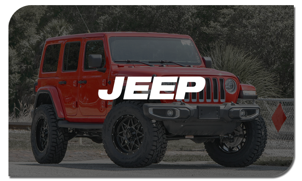 Shop Online for Off-Road Wheels for Jeep Wrangler & Gladiator