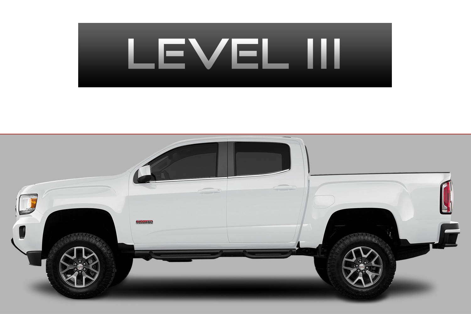 GMC Canyon Off-Road Customizing Package Level 3 by 3C Trucks