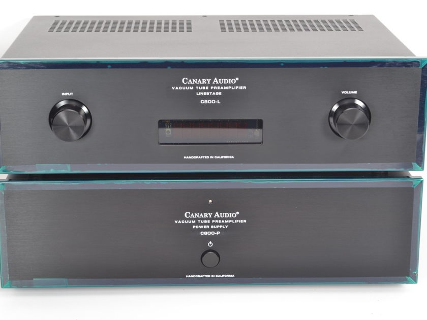 Canary Audio C800 Stereo Tube Line Stage Preamplifier