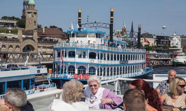 Гамбург: hop-on hop-off и круиз по гавани