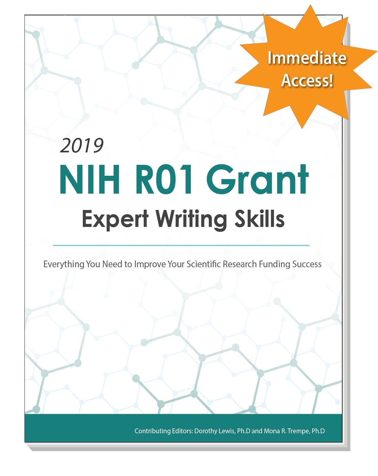 Nih grant writing help