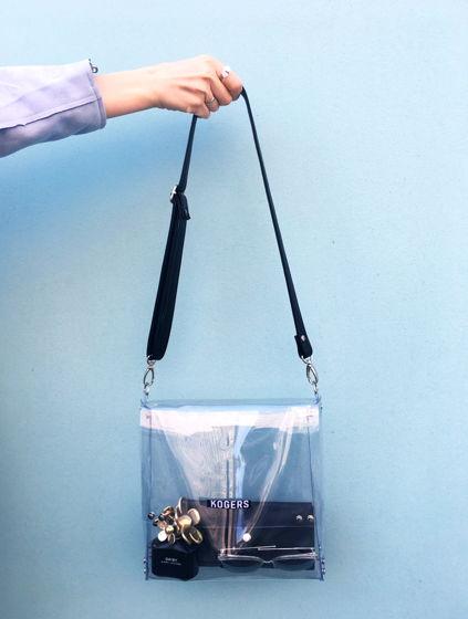 "Прозрачная сумка ""Квадрат"""
