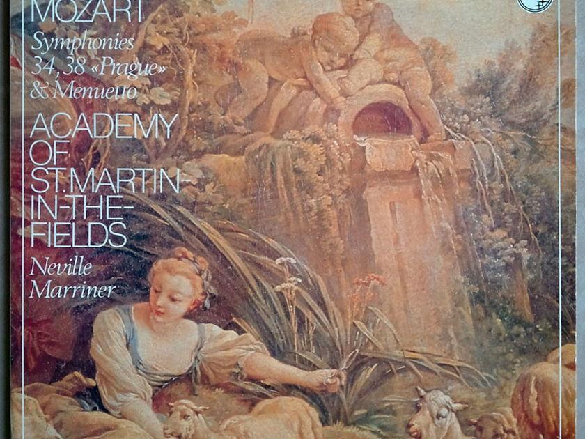 Philips/Marriner/Mozart - Symphonies Nos. 34, 38 & Menuetto / NM