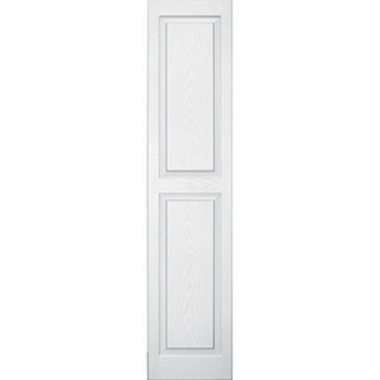 OPTIONAL RAISED SHUTTERS-WHITE