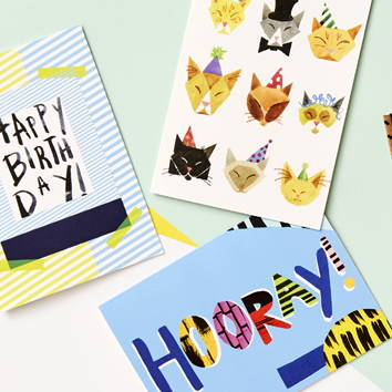 We Are Blotter Greeting cards link to Online shop