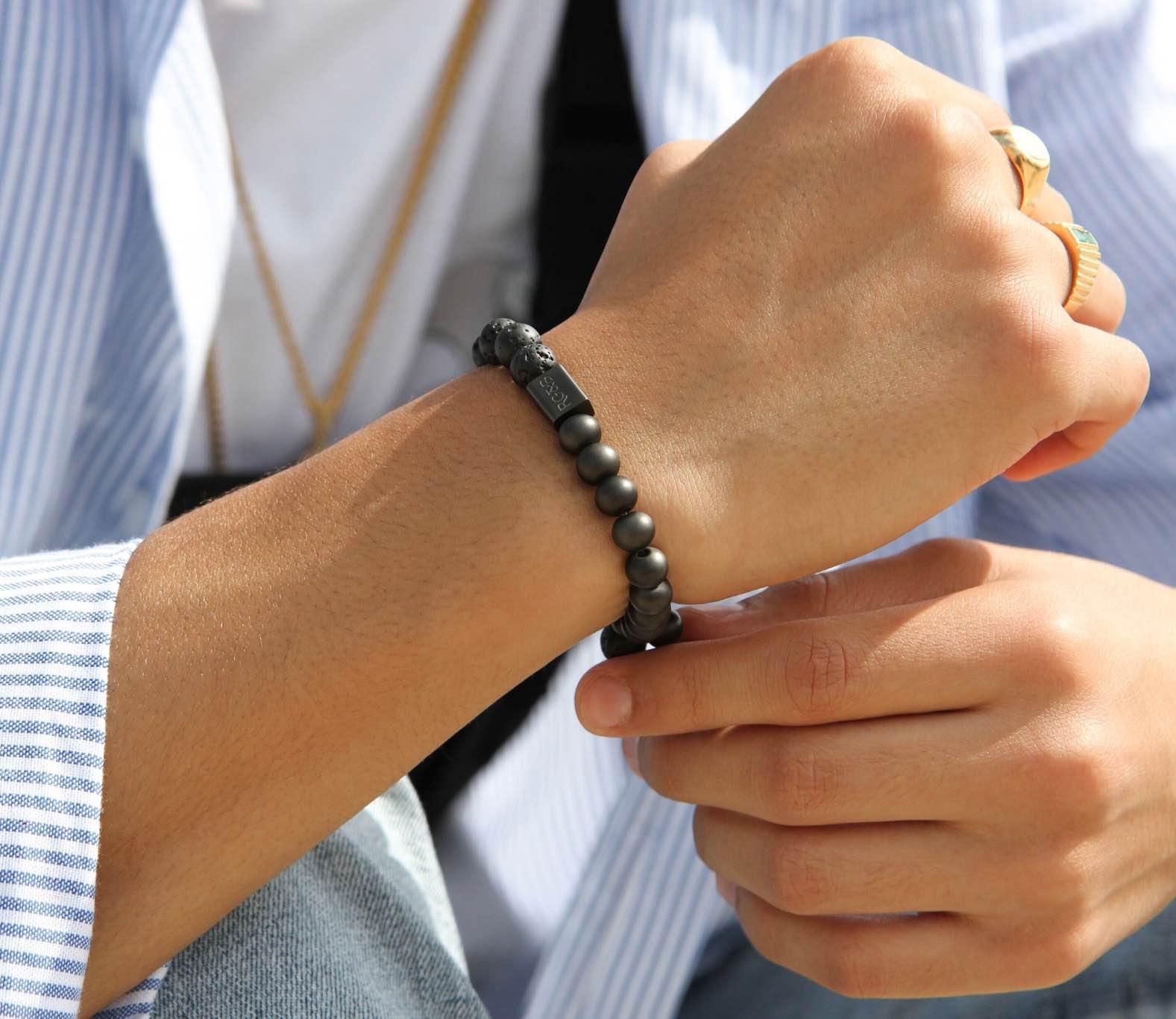 Adjustable Black Feather Necklace - RG&B Teaching Mens Fashion