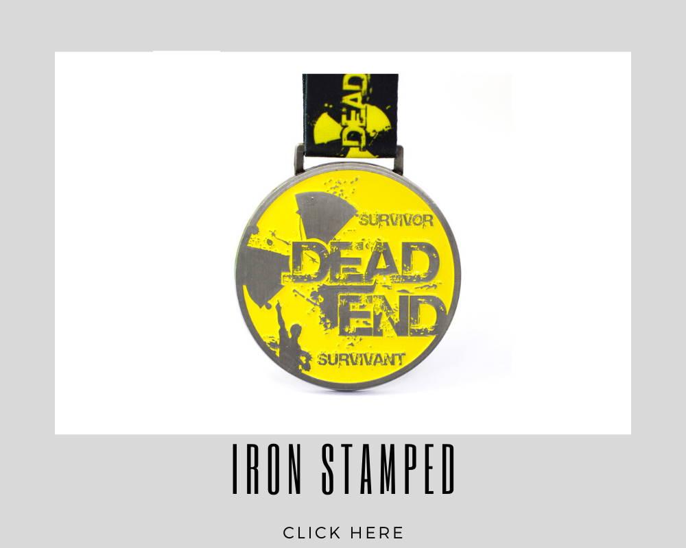 Custom Iron Stamped Corporate Medallions