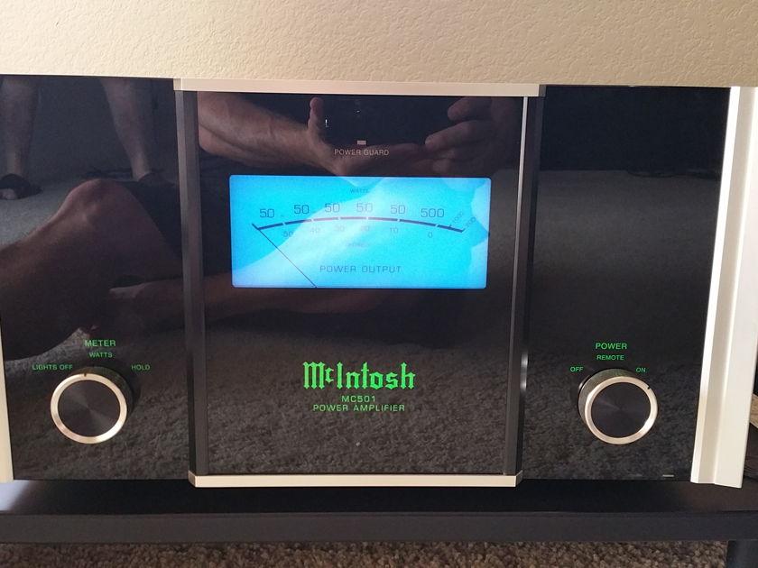 McIntosh MC501 (Monoblock Pair)